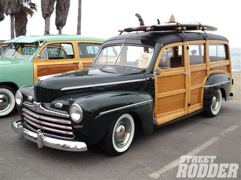 Ford Woody by 1946 Ford Deluxe Woody Wagon