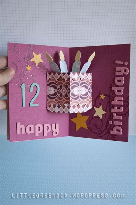 pop up card ideas pop up birthday cake card card ideas