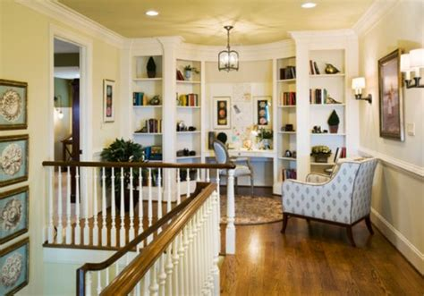 how to decorate a traditional home 10 staircase landings featuring creative use of space