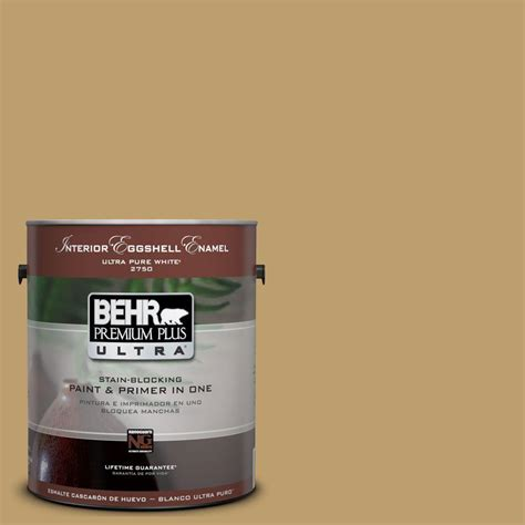 vintage paint colors home depot behr premium plus ultra 1 gal ul180 24 ground cumin