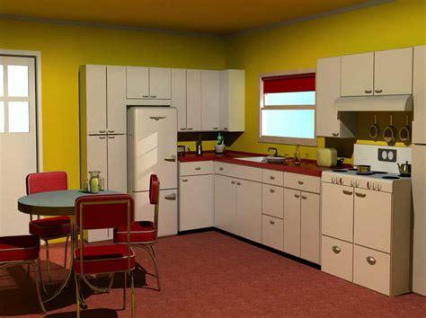 1950s kitchen design 1950s kitchen style afreakatheart