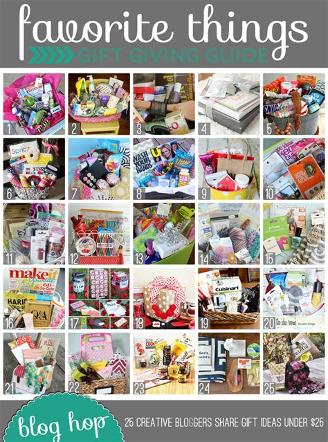 things for gifts favorite things gift guide eighteen25