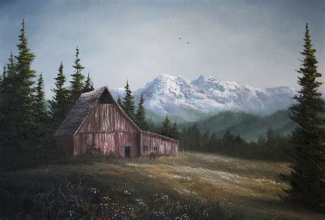 bob ross acrylic painting lesson kevin hill gallery paint with kevin kevin hill