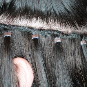 what hair is used for braidless sew in braidless weave extensions jessica hairstylist