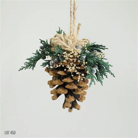pine cones tree ornaments decorations tree ornament pine cone