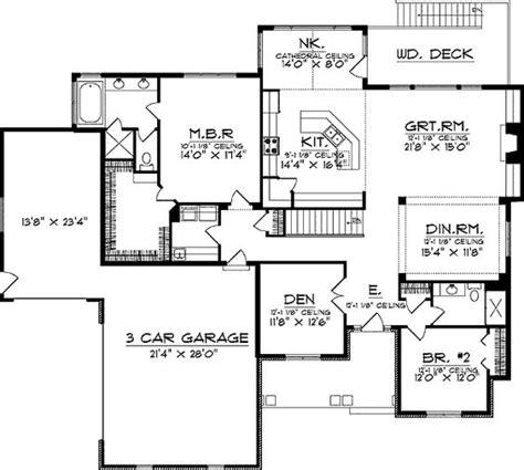 floor plans with walkout basements ranch floor plans with walkout basement floor