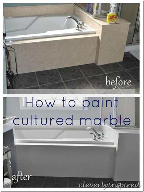 how to paint how to paint cultured marble