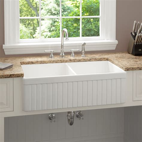 kitchen apron sinks 33 inch baldwin bowl fireclay farmhouse kitchen