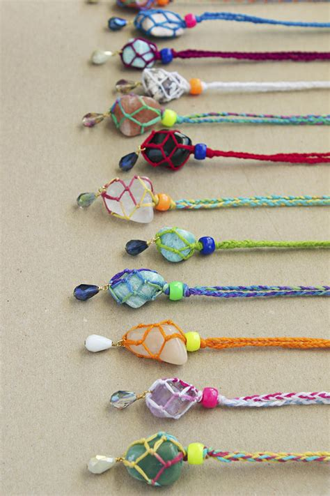how to make and sell jewelry kid friendly bling 6 diy necklaces handmade