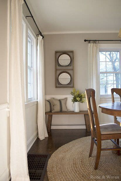 walls in dining room best 25 dining room curtains ideas on dining