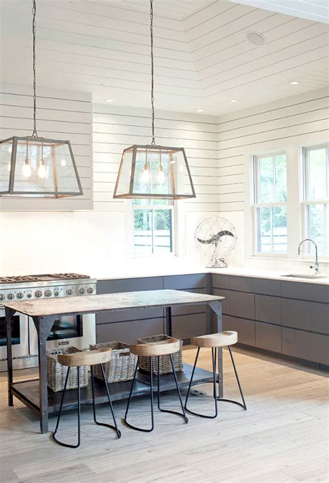 industrial style lighting for a kitchen an industrial farm house style kitchen with great lighting