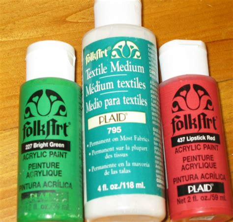 can folk acrylic paint be used on fabric folk acrylic paint color chart