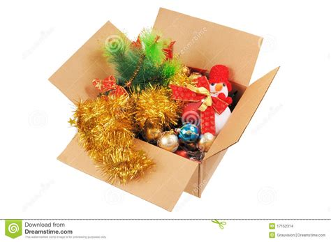 box of decorations box with decorations stock images image 17152314