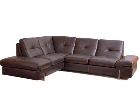 italian leather sectional sofa sectional sofa in italian leather 33ls221