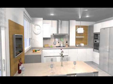 estudios de cocina estudio de cocina con mesa integrada y zona de tv arredo