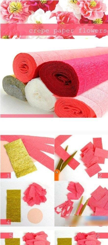 crepe paper crafts 98 best crepe paper flowers images on crepe