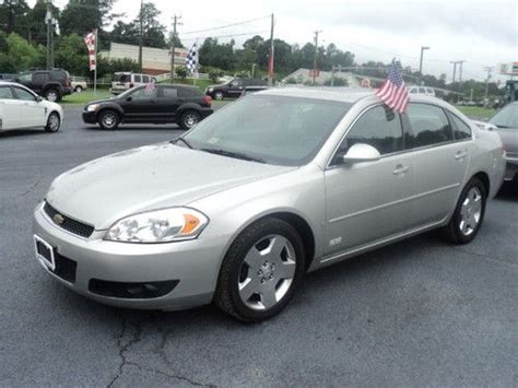 auto air conditioning service 2007 chevrolet impala electronic toll collection sell used 2007 chevrolet impala ss sedan 4 door 5 3l in colonial heights virginia united states