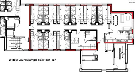 Accessible Bathroom Plans by Willow Court University Of Stirling