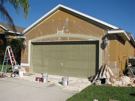 spray painting house melbourne garage door spray painting