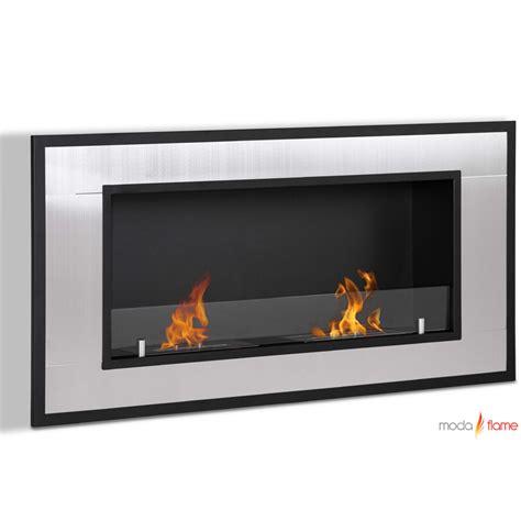 wall mounted ethanol fireplace moda lugo wall mounted ethanol fireplace