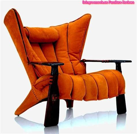 orange living room chair orange accent chairs with arms