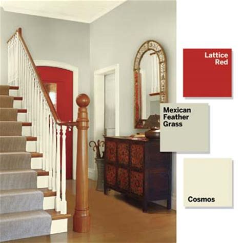 bold paint colors for small spaces entry foyer add a single accent 3 small spaces 9 bold