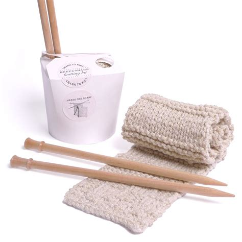 knitted kits learn to knit kit keep