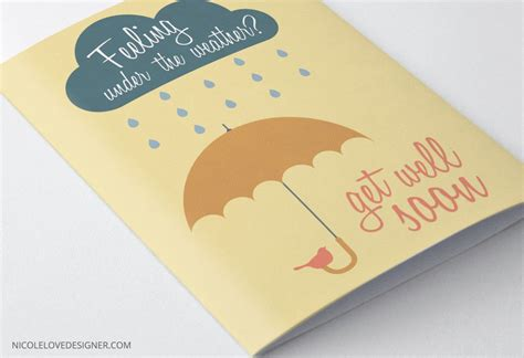 make a get well card for free free printable get well cards and templates