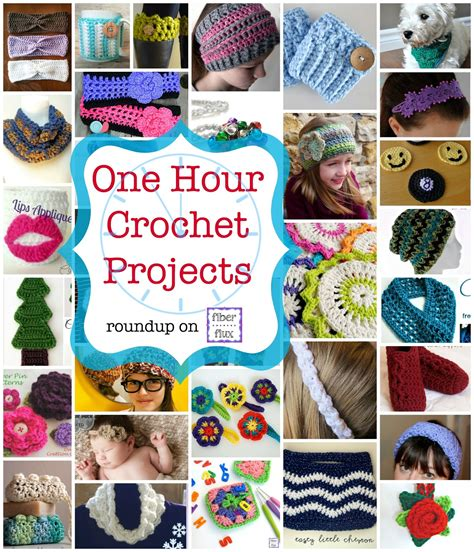 1 hour craft projects 35 one hour crochet projects diy craft projects