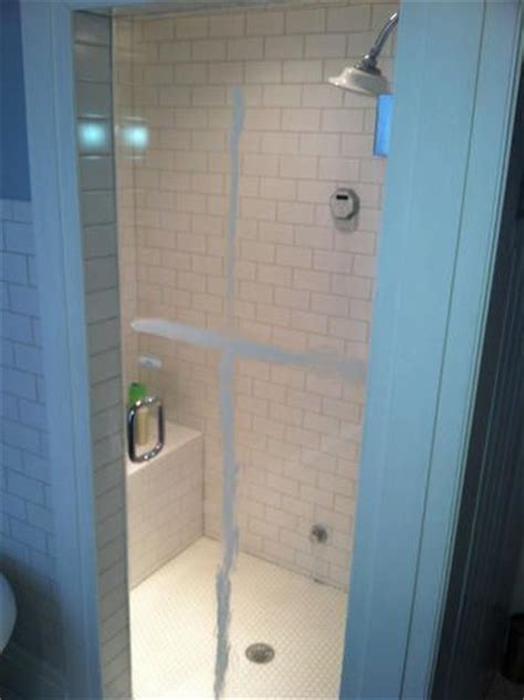 removing soap scum from shower door removing soap scum from shower doors 4 methods and a