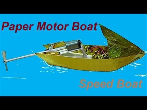 origami speed boat how to make a paper speed boat