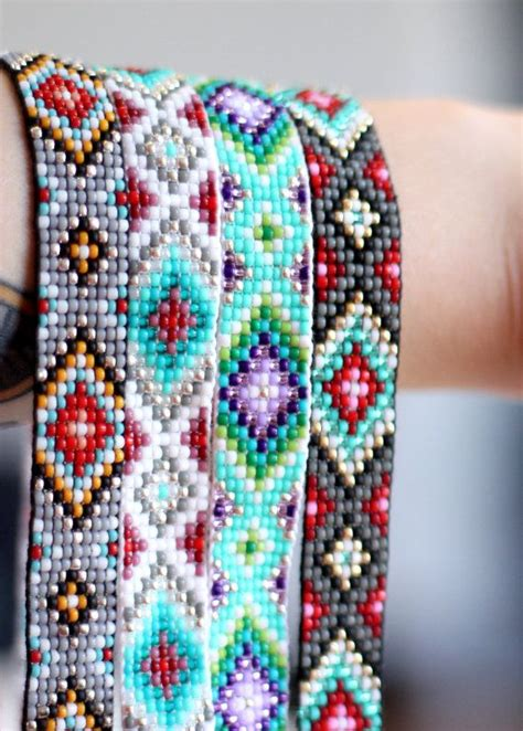 bead patterns 592 best images about peyote bracelet on