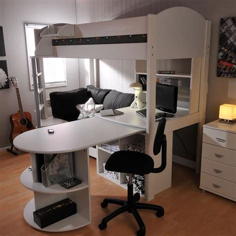 high sofa bed high sleeper loft beds with sofabed futon sofa desk