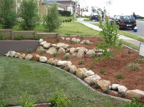 rock edging for gardens 17 best ideas about lawn edging stones on