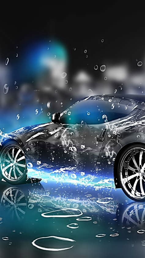 Car Live Wallpaper For Pc by 3d Car Water Galaxy S6 Wallpaper 1440x2560