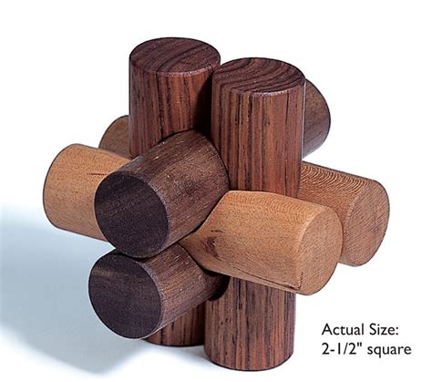 woodwork puzzles fiendish knot puzzle popular woodworking magazine