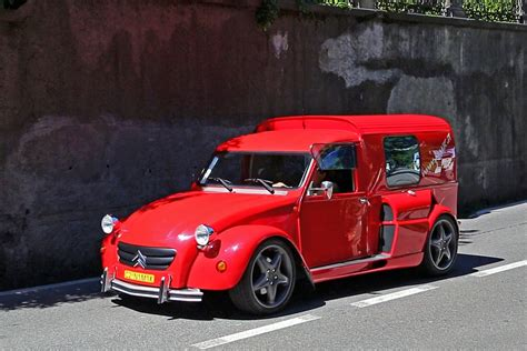 Citroen 2cv Engine by Citro 235 N 2cv Fourgonnette With A V8 Engine Grabs