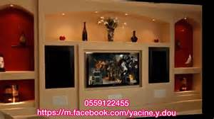D 233 Coration Ba13 Placo Platre Meuble Tv Avant Spr 233 Yacine
