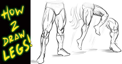 how to draw style book how to draw legs tutorial comic book style narrated