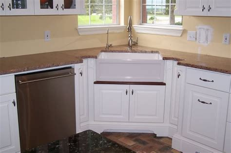 kitchens with corner sinks oooh corner farmhouse sink for the home