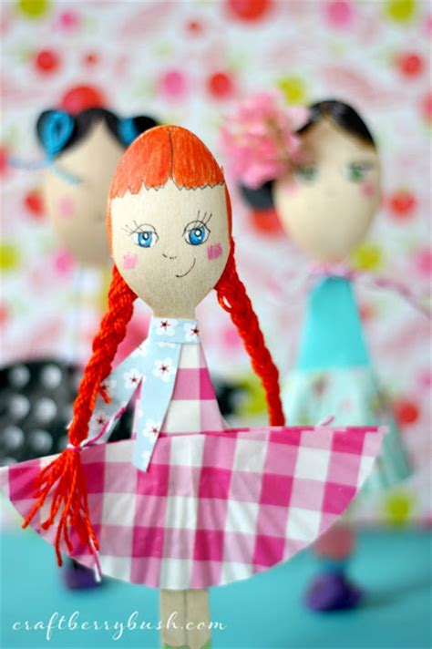 doll crafts for spoon doll craft for easy and