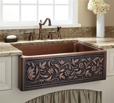 cooper kitchen sink when and how to add a copper farmhouse sink to a kitchen
