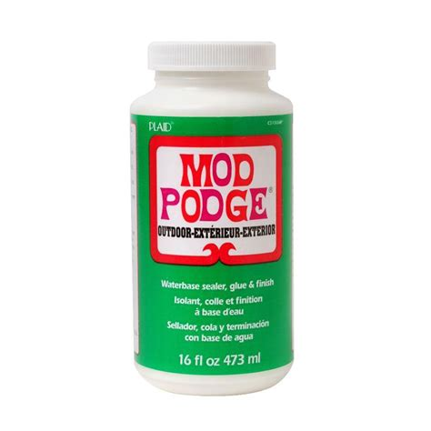 decoupage glue mod podge 16 oz outdoor decoupage glue cs15062 the home