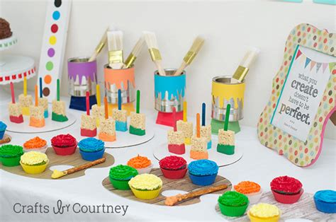 arts and crafts ideas for birthday easy diy themed birthday