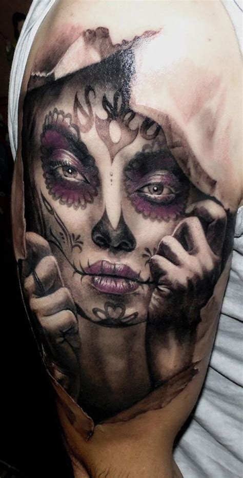 3d day of the dead best tattoo ideas amp designs