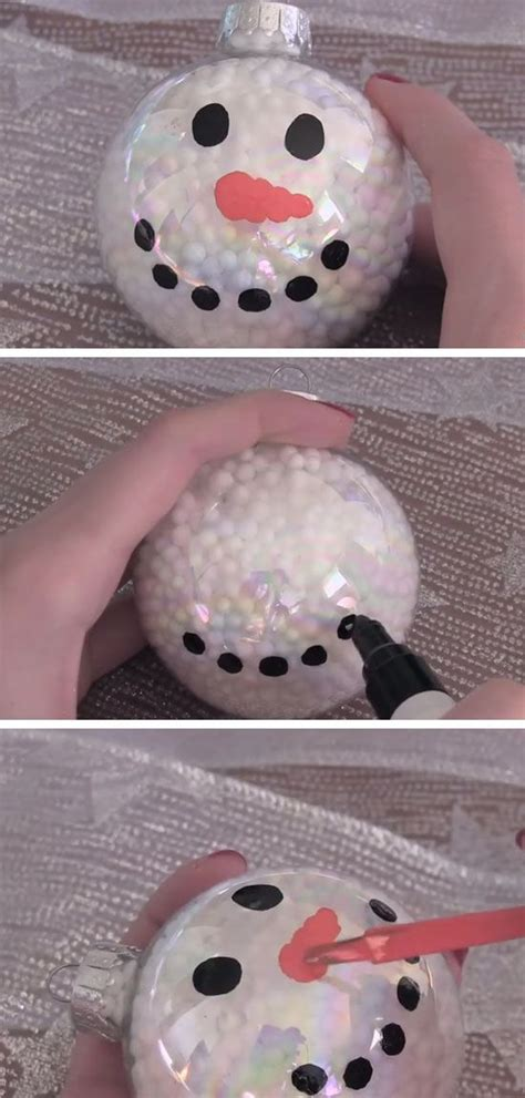snowman ornament craft 25 best ideas about snowman ornaments on