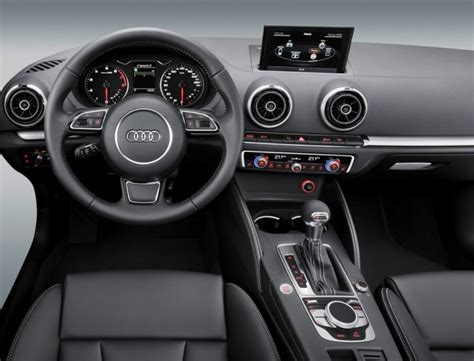 audi shows 2013 a3 interior at ces car and driver blog