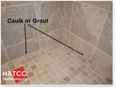 how to grout tile where should grout and caulk be installed in a tile shower