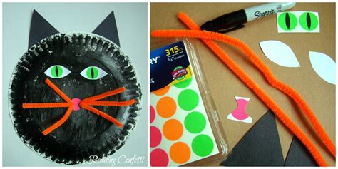 construction paper crafts for 4 year olds 3 paper plate crafts for reading confetti