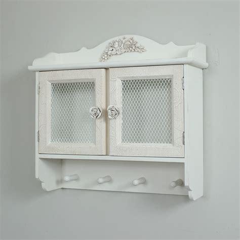shabby chic wall cupboard wall cabinet cupboard vintage chic door hook